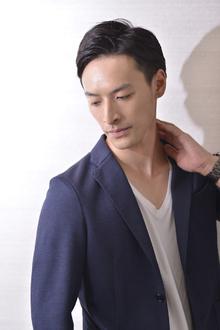 万能七三分け男前ショート|Hayato Hakone Salons&Spaのヘアスタイル