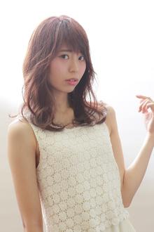 ミディアムクリアピンク|Hayato Hakone Salons&Spaのヘアスタイル