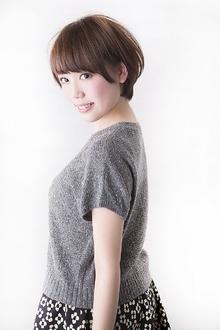 洗練+かわいい 耳かけショートボブ|Hayato Hakone Salons&Spaのヘアスタイル