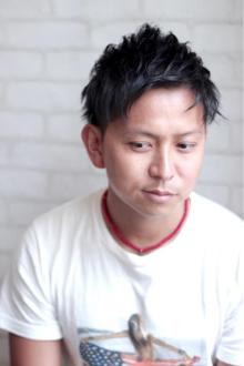 ☆センターアップバングスパイキー☆|Aereのヘアスタイル