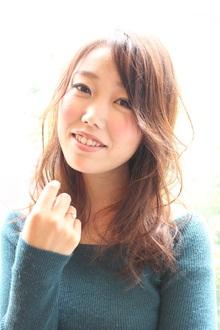 ☆色っぽウェーブセミロング☆|Aereのヘアスタイル