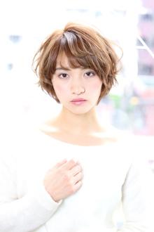 ☆イルミナヌード×ショートヘア☆|Aereのヘアスタイル
