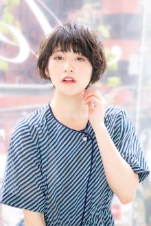 ★クシュっと愛されモテショート★|Aereのヘアスタイル