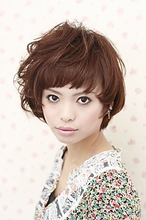 アシメショート|遊人 CENTRAL 菅 紀子のヘアスタイル