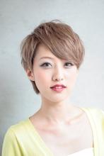 ハイトーンショート|遊人 CENTRAL 田中 文也のヘアスタイル