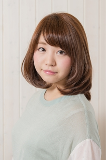 ヘルシーボブ Organic Hair Salon byEQのヘアスタイル