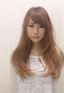 longレイヤー|Organic Hair Salon byEQのヘアスタイル