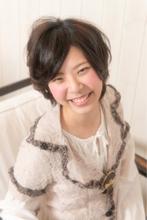 黒髪ショート|Organic Hair Salon byEQ 小原 翔太のヘアスタイル