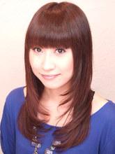 大きめカールで少し動きを出しました。重めが好きな方に|FRAME hair 木村 則子のヘアスタイル