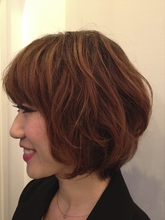 可愛いもカッコいいも。ナチュラルショートボブ|FRAME hair 木村 則子のヘアスタイル