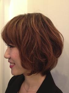 可愛いもカッコいいも。ナチュラルショートボブ|FRAME hairのヘアスタイル