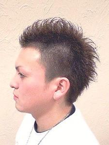 人気のソフトモヒカン☆マットアッシュで柔らかいスタイル。|FRAME hairのヘアスタイル