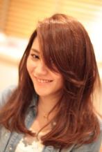 ナチュくしゅロング☆|ecru 自由が丘のヘアスタイル