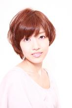ゆるふわショートパーマ|Hair&Make BONDのヘアスタイル