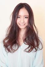 憧れのふわふわロング|Hair&Make BOND 大野 清美のヘアスタイル