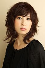 しなやかドレープカール|Hair&Make BOND 守屋 潤輝のヘアスタイル