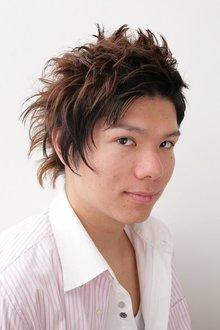 やんちゃなアシンメトリー|Hair&Make BONDのヘアスタイル
