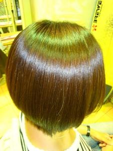 ツヤボブ|Link for hairのヘアスタイル