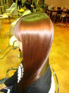 美髪ストレート|Link for hairのヘアスタイル
