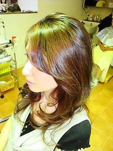 ふわふわデジパー|Link for hairのヘアスタイル
