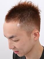 ソフトモヒカンですっきりと。|SAVONのメンズヘアスタイル