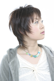 ショートシャギー|SAVONのヘアスタイル