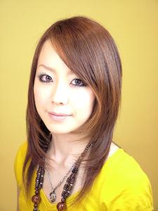 自然な内巻きで女の子らしいストレートスタイル|Studio M's 鎌取店のヘアスタイル
