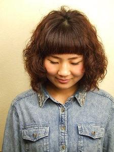 キュートポップカール|Studio M's 鎌取店のヘアスタイル