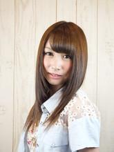 日本人のかわいさを100%引きだすストレート|Studio M's 稲毛海岸店のヘアスタイル