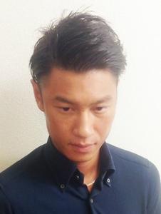 ツーブロック七三|Studio M's 稲毛海岸店のヘアスタイル