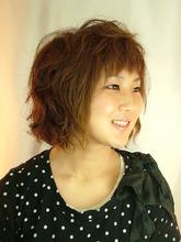 リラックスパーマ Studio M's 稲毛店のヘアスタイル
