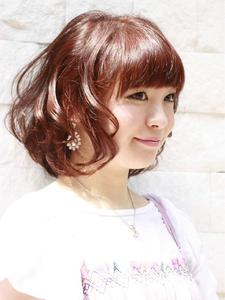 エアリー☆リリィーボブ|MILLENNIUM NEW YORK 仙川店のヘアスタイル