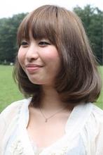 大人かわいいフェミニンボブ2013|MILLENNIUM NEW YORK 仙川店のヘアスタイル