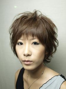 ふんわりショート|MILLENNIUM NEW YORK 仙川店のヘアスタイル