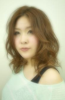 ルミエールミディアムエアリー☆|MILLENNIUM NEW YORK 西荻窪店のヘアスタイル