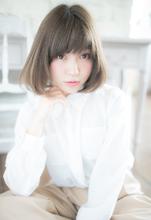 大人可愛い透け感スタイル|Rue D'or 栄 【個室型ヘアサロン】 古川 雄斗のヘアスタイル