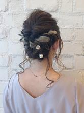 リボンアレンジ|Rue D'or 栄 【個室型ヘアサロン】 石川 有里彩のヘアスタイル