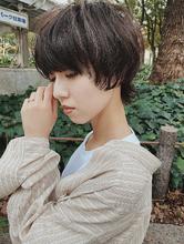 ショートウルフ|Rue D'or 栄 【個室型ヘアサロン】 石川 有里彩のヘアスタイル