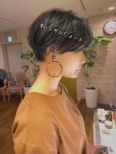 ハンサムショート|Rue D'or 栄のヘアスタイル