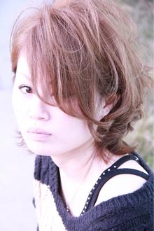 ハンサム女子|salon de'  allianz canalのヘアスタイル