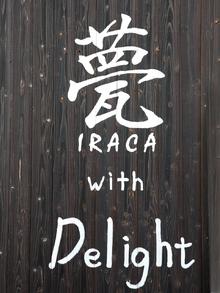 甍 IRACA with Delight  | イラカ ウィズ ディライト  のロゴ