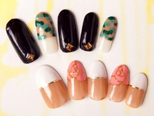 air heart Nail Design