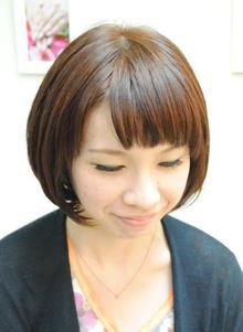 大人のクラシカルボブ|Cure2のヘアスタイル