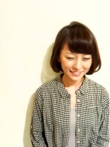 短めボブ|one by oneのヘアスタイル