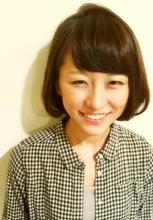短めボブ|one by one CLACCA 濱岡 あゆみのヘアスタイル