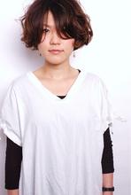 ラフなマニッシュ☆ボブ|one by one CLACCA 大前 香のヘアスタイル