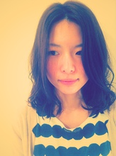 yuru fuwa style|one by one CLACCA 大前 香のヘアスタイル