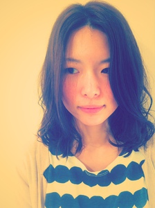 yuru fuwa style|one by one CLACCAのヘアスタイル