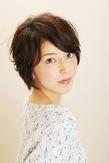 Cカールエアリーショート|JEAN-CLAUDE BIGUINE 目黒店のヘアスタイル
