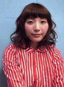 ナチュラルミディ☆ |visunaのヘアスタイル